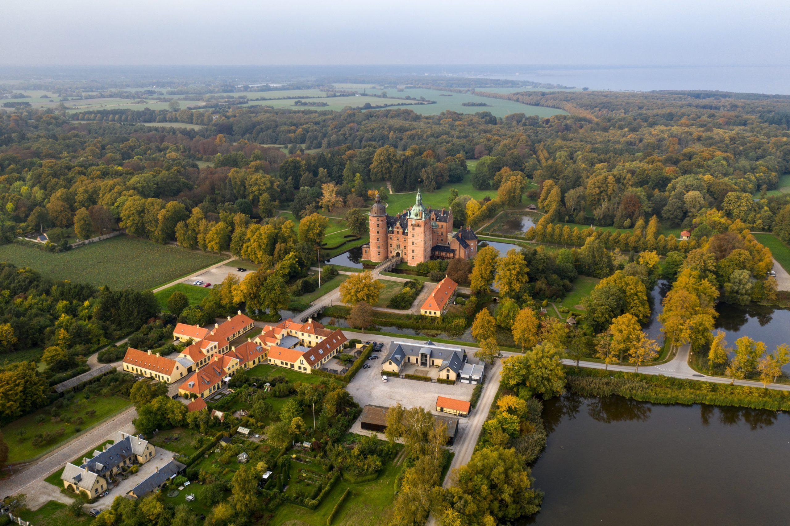 Vallø Slot og nærområde