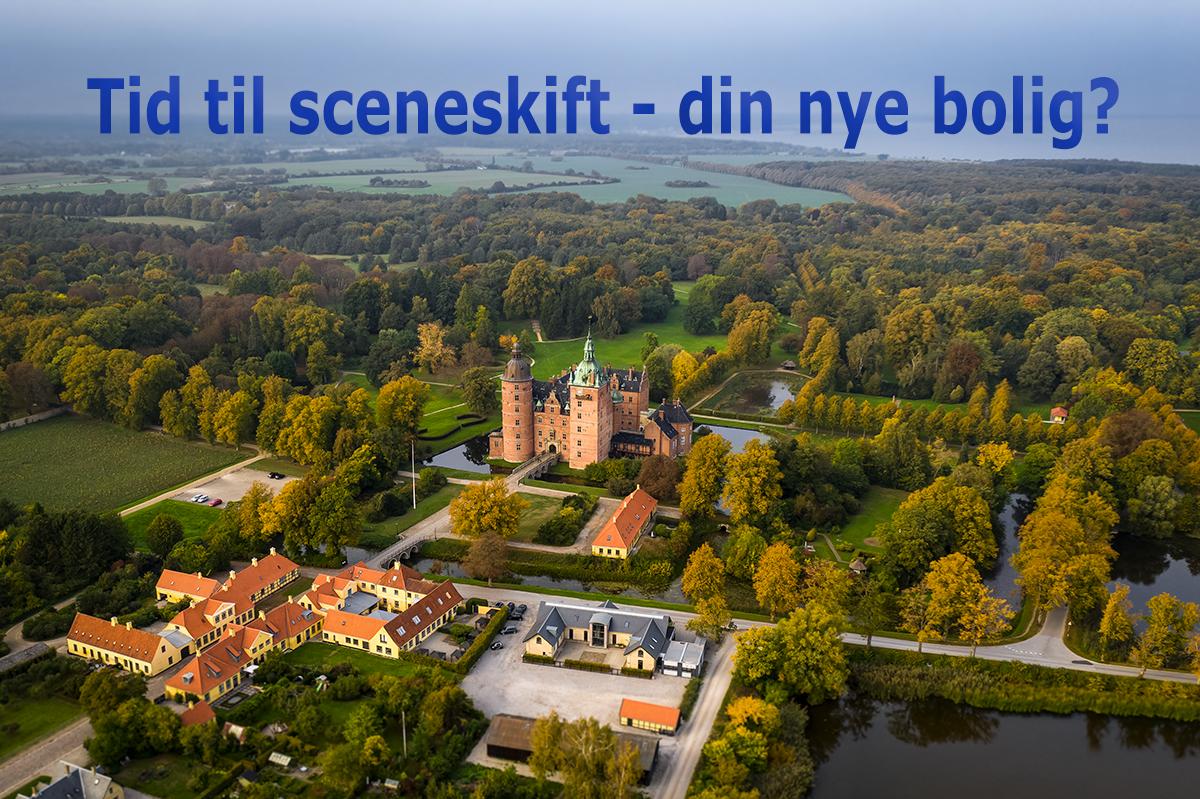 Lejlighed på Vallø slot